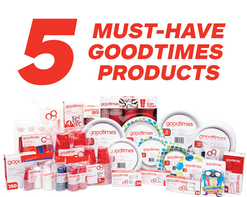 5 Must Have Good Times Products